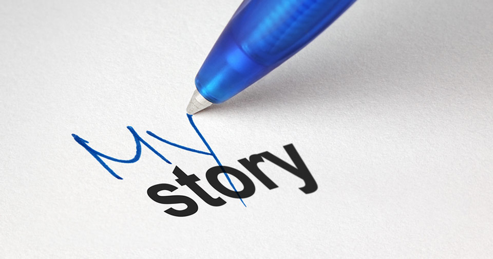 how to write a personal story